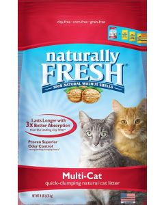 Naturally Fresh Litter Multi-Cat Cat Litter 14lb