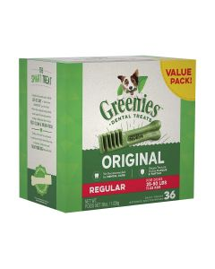 Greenies Regular Size Dog Dental Treats 36 count 36oz