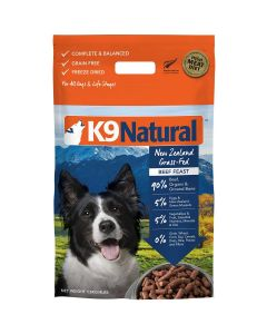K9 Natural Freeze Dried Beef Feast Dry Dog Food 4lb