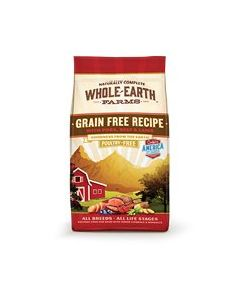 Whole Earth Pork, Beef & Lamb Dry Dog Food 25lb