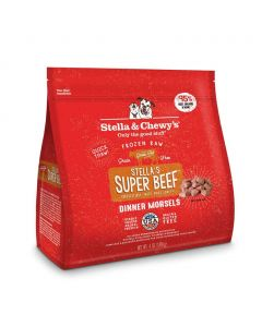 Stella and Chewys Stella's Super Beef Frozen Dinner Morsels 4lb