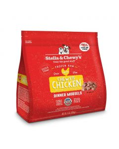 Stella and Chewys Chewy's Chicken Frozen Dinner Morsels 4lb