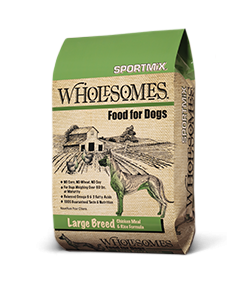 Wholesomes Large Breed Chicken Meal & Rice Dry Dog Food 40lb