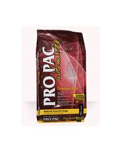 PRO PAC Overland Red Dry Dog Food 28lb