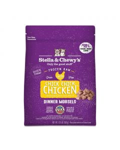 Stella and Chewys Chick, Chick Chicken Frozen Dinner Morsels 1.25lb