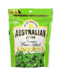 CANDY LICORICE GREEN APPLE 10o