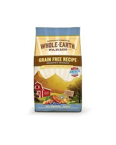Whole Earth Healthy Weight Dry Dog Food 12lb