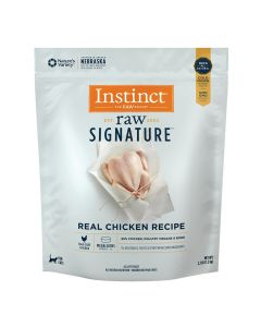 Nature's Variety Instinct Raw Signature Frozen Medallions Real Chicken Dry Cat Food 2.7lb