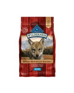 Blue Buffalo Rocky Mountain Red Meat Puppy Dry Dog Food 22lb