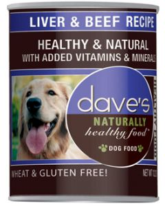 Dave's Pet Food Liver and Beef Recipe 13oz