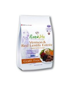 PureVita Venison & Red Lentil Dry Dog Food 25lb