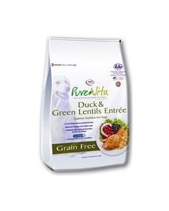 PureVita Duck & Green Lentils Dry Dog Food 25lb