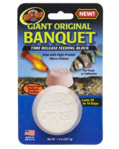 ZOO MED Original Banquet Feeding Block Giant