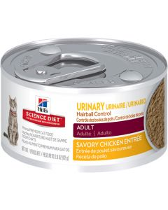 Science Diet Urinary Hairball Control Food 2.9oz