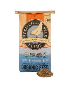 Scratch Naturally Free Organic Layer Feed 18% For Chickens & Ducks, 40lb