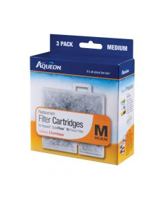 Aqueon Replacement Filter Cartridge Medium 3 Pack