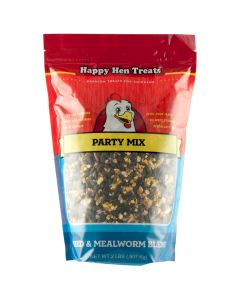 Happy Hen Treats Party Mix Seed & Mealworm 2lb