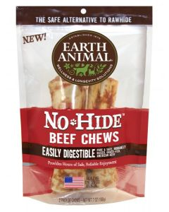 "Earth Animal Beef 7"" Chews 2 Pack"