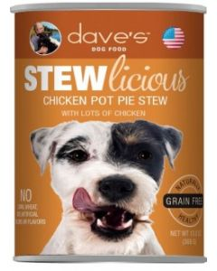 Dave's Pet Food Stewlicious Chicken Pot Pie Stew 13oz