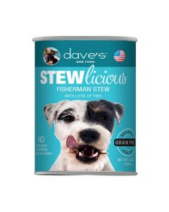 Dave's Pet Food Stewlicious Meal For Dogs Fisherman Stew 13oz