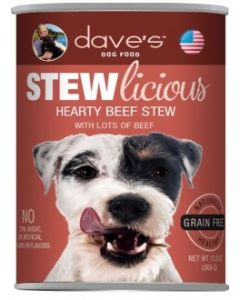 Dave's Pet Food Stewlicious Hearty Beef Stew 13oz