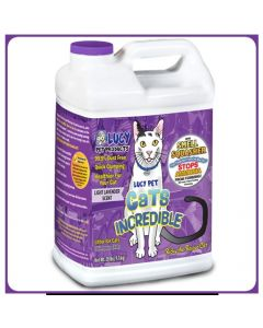 Lucy Pet Products Cats Incredible Lavender 20lb Jug