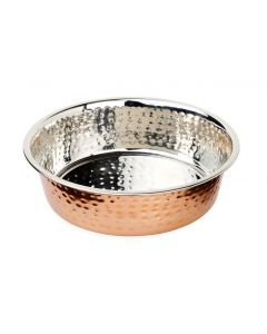 Buddy's Line Premier Hammered with Copper Finish Bowl Small 18oz