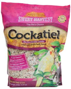 Kaylor of Colorado Cockatiel without Sunflower Seeds 4lb