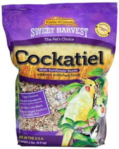 Kaylor of Colorado Cockatiel with Sunflower Seeds 20lb