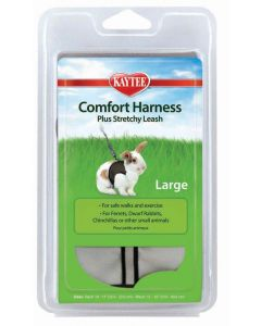 Kaytee Comfort Harness with Stretchy Leash Large