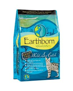 Earthborn Wild Sea Catch Dry Cat Food 5lb