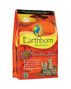 Earthborn Primitive Feline Dry Cat Food 14lb