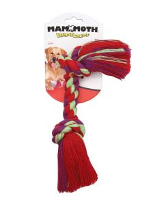 """Mammoth Pet Products 2 Knot Bone Color Small 9"""""""