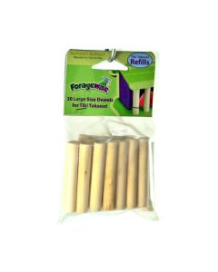 Nature's Instinct Foragewise Tiki Dowels Large