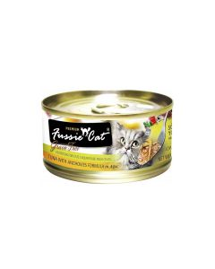 Fussie Cat Tuna with Anchovies