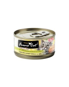 Fussie Cat Tuna with Shrimp 2.8oz