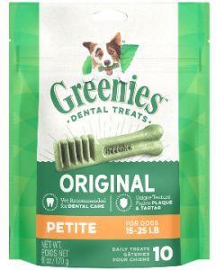 Greenies Petite Dog Dental Treats 30 count 18oz