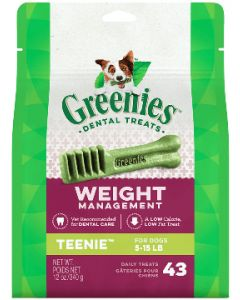 Greenies Weight Management Teenie Dog Dental Treats 96 count 27oz