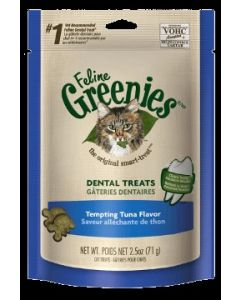 Greenies Dental Treats Tempting Tuna Flavor 5.5oz