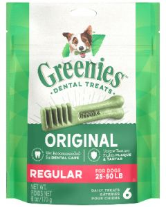 Greenies Regular Size Dog Dental Treats 18 count 18oz
