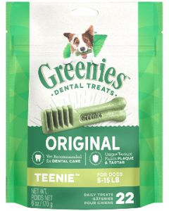 Greenies Teenie Dog Dental Treats 96 count 27oz