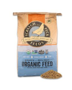 Scratch Naturally Free Organic Grower Feed 40lb