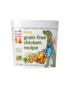Honest Kitchen Force Dehydrated Dog Food Grain Free Chicken Recipe Cup 3oz