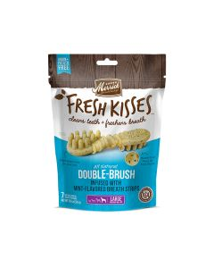 Merrick Fresh Kisses Mint Breath Strips For Large Dogs, 7 Pieces