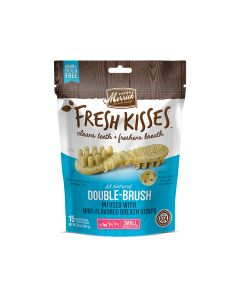 Merrick Fresh Kisses Mint Breath Strips For Small Dogs, 15 Pieces