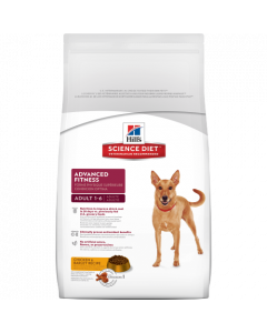 Science Diet Adult Advanced Fitness Dry Dog Food 15lb