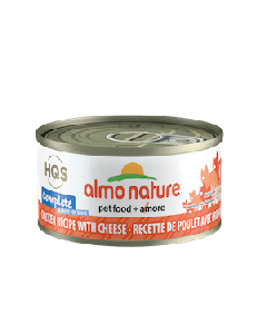 Almo Nature Complete Chicken Recipe w/ Cheese in Gravy Wet Cat Food 2.47oz