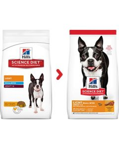 Science Diet Adult Light Small Bites Dry Dog Food 30lb
