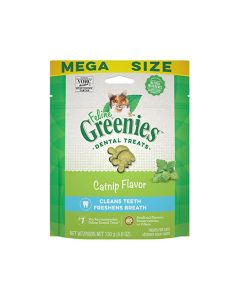 Greenies Feline Dental Treats Catnip Flavor 4.6oz