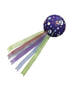 KONG Active Space Ball Cat Toy Purple